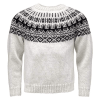 Traditional ICEWEAR Elis Icelandic Wool Sweater white