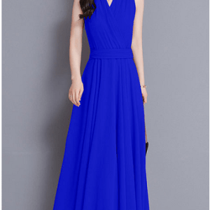 Image_Popjulia_v_neck_women_dress_blue