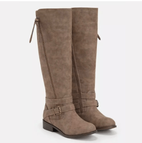 Image_Berrylook_outdoor_flat_boots_camel_frontside