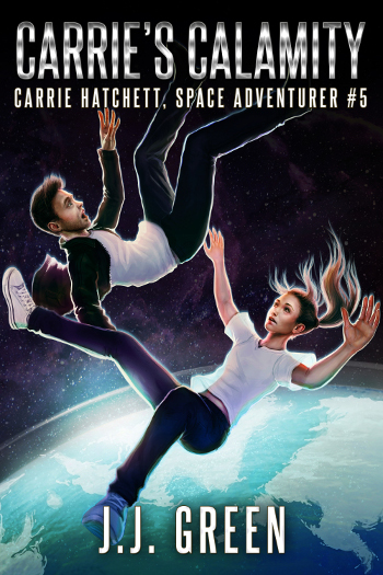<cite>Carrie Hatchett, Space Adventurer Book 1</cite>