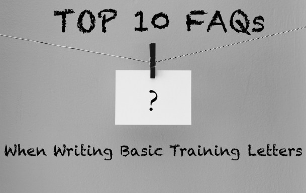 Top 10 FAQs About Writing Letters to Your Soldier at Basic