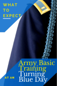 What to Expect at an Army Basic Training Turning Blue Day - jjheartblog