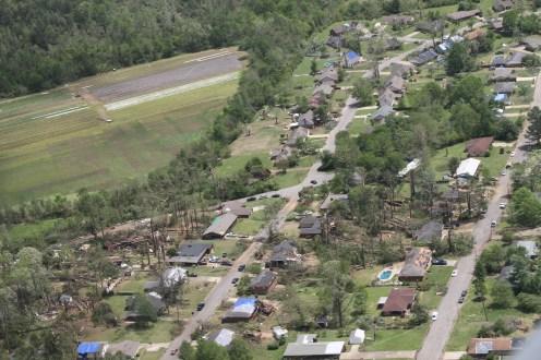 Storm damage everywhere!
