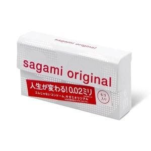 Sagami 相模原創 0.02 (第二代) 6 片裝