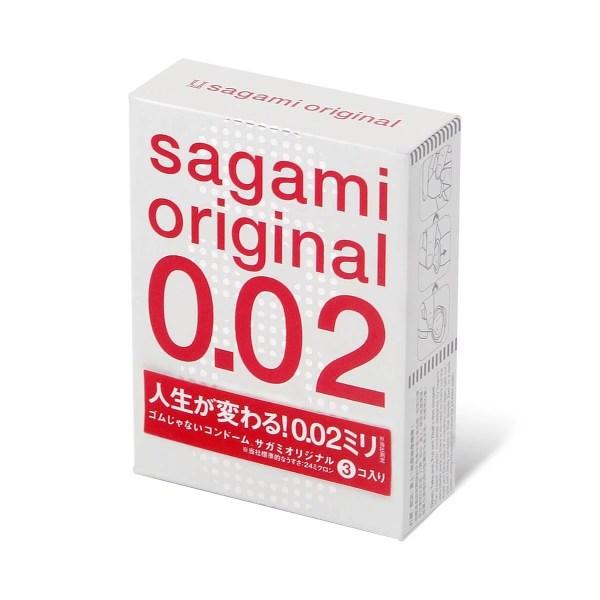 Sagami 相模原創 0.02 (第二代) 3 片裝