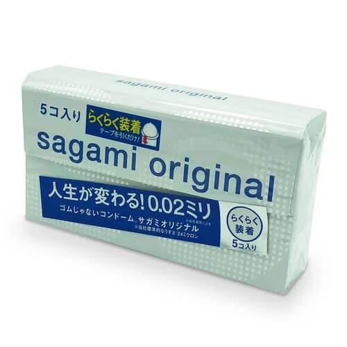 Sagami 相模原創 0.02 快閃 (第二代) 5 片裝