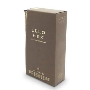 Lelo HEX Respect 加大碼 六角形網狀套 12 片裝