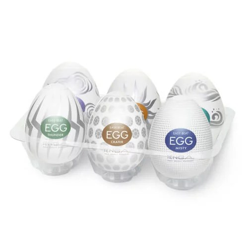 TENGA Egg 6種盛盒 Hard Gel