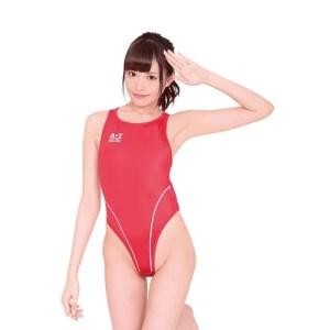 薄薄的競泳水着(紅) (日本版)