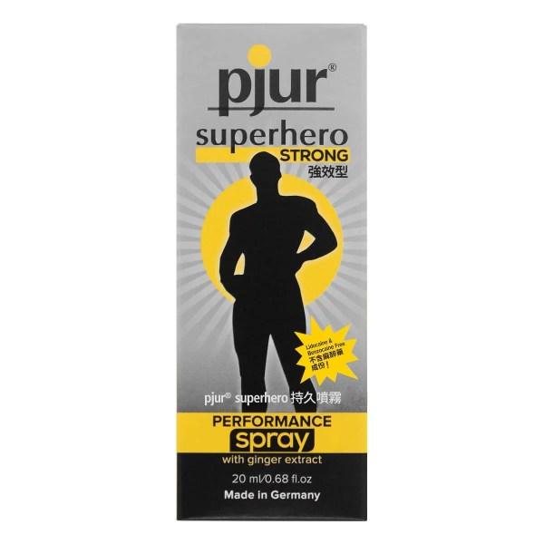 pjur superhero 持久噴霧 強效型 20ml