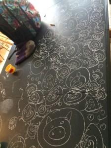 Chalkboard table (3)