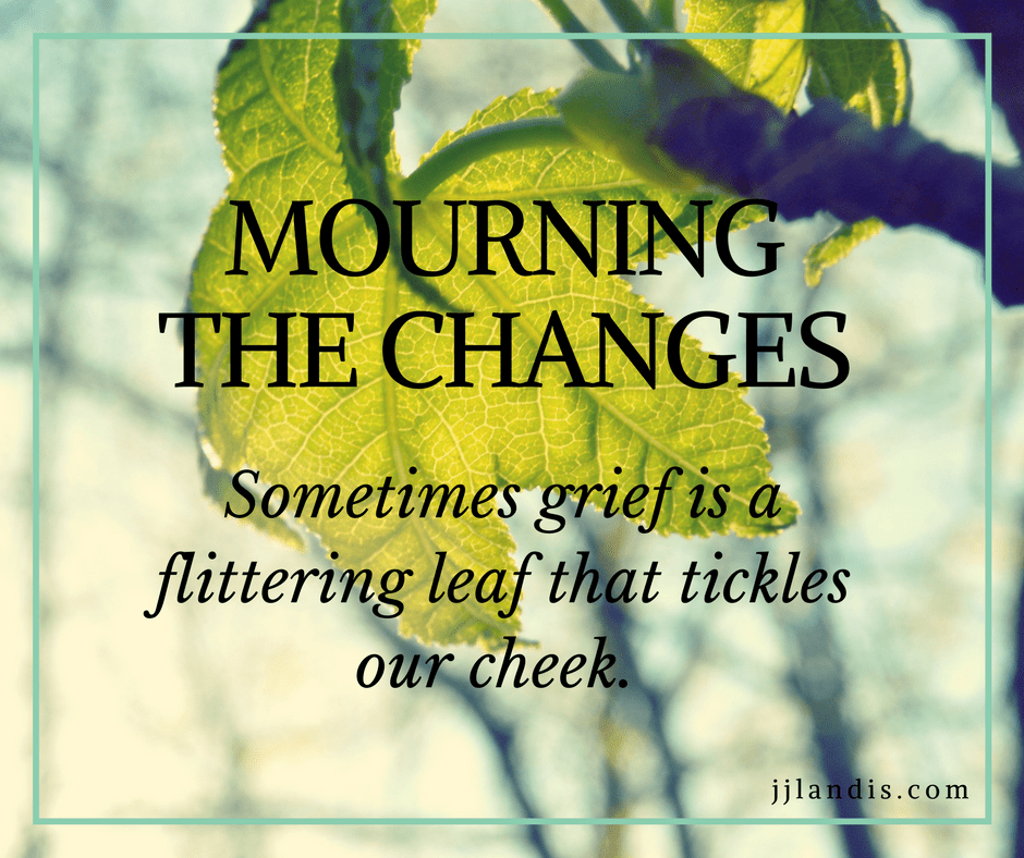 mourning changes
