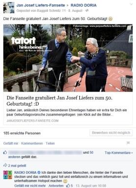 8. August: Jan Josef Liefers feiert seinen 50 Geburtstag und natürlich lassen wir es uns nicht nehmen, ihn ein wenig auf die Schippe... NEIN, ihm zu gratulieren natürlich. :D (Alle Fotomontagen: https://janjosefliefers-fanseite.com/2014/08/08/die-fanseite-gratuliert-jan-josef-liefers-zum-50-geburtstag-d/)