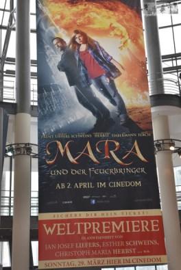 """Am 29. März zelebrieren wir mit lauter fröhlichen Menschen die Weltpremiere von """"Mara und der Feuerbringer"""" in Köln."""