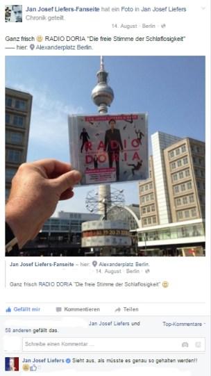 Am 14. August erscheint das neue Album von Radio Doria und wir haben es direkt in Berlin erstanden ...