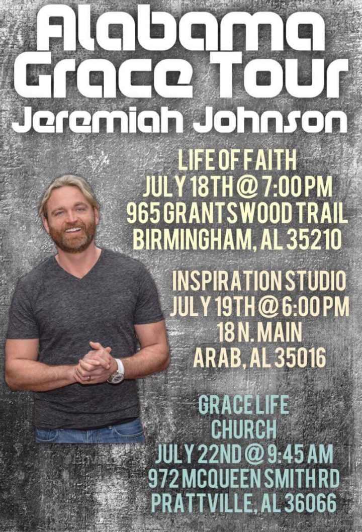 Alabama July 18th - Jeremiah Johnson Ministries