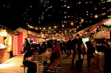 Flea market @ Columbus circle