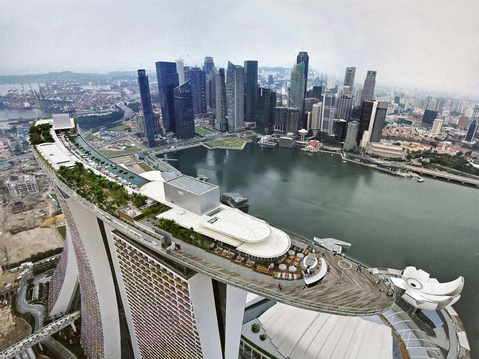 El Mega Voladizo de Singapur - Historias de Arquitectura