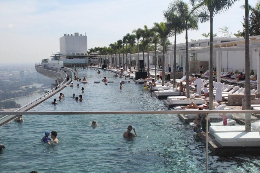 Marina-Bay-Sands-Hotel-Skypark-Singapore-from-Waterfront-Esplanade-2