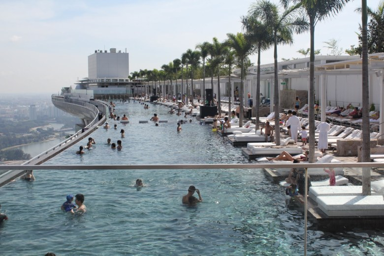 Marina-Bay-Sands-Hotel-Skypark-Singapore-from-Waterfront-Esplanade-2