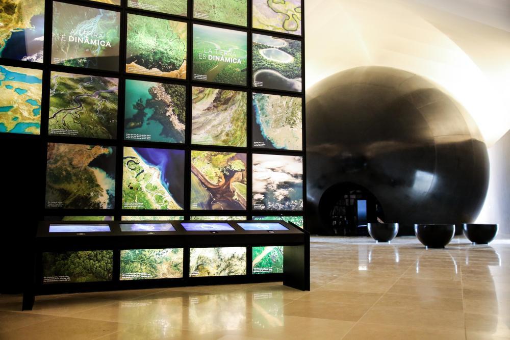Museudoamanhã Bernard Miranda Lessa 1_Earth_ Matter Cube and Cosmic Portal