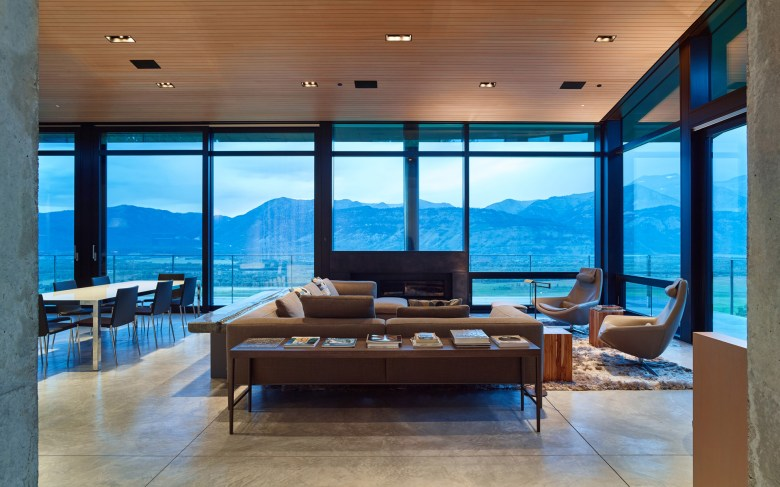 007 -Abramson-Teiger-Architects-Wyoming-Residence-Living-Room-View-1