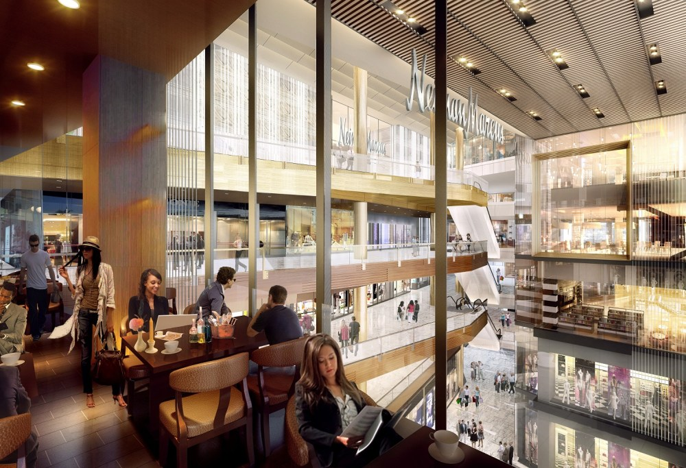Restaurant View, The Shops at Hudson Yards - courtesy of Related-Oxford