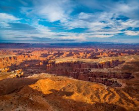 Afternoon - Grandview Point - Canyonlands NP, UT © jj raia
