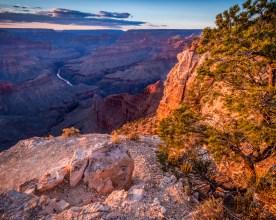 Colorado River from Mojave Point - Grand Canyon, AZ © jj raia