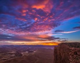 Junction Butte at Dawn, Canyonlands NP, UT © jj raia