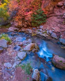 kanarra Creek in Autumn - Kanarra Creek Canyon, UT © jj raia