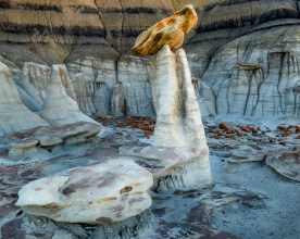 The Pedestal, Bisti Badlands, NM