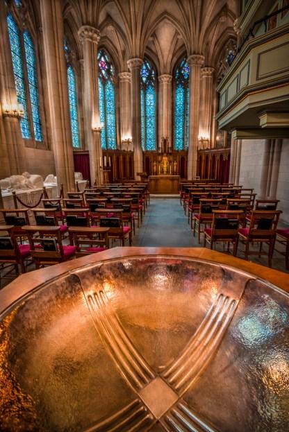 Baptismal Urn — Duke University Campus, NC © jj raia