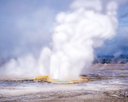 Lower Geyser Basin — Yellowstone NP, WY © jj raia