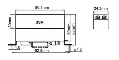 DIN Rail Mount Solid State Relay,Solid State Contactor,SSR