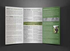 101st California Amateur Championship Brochure