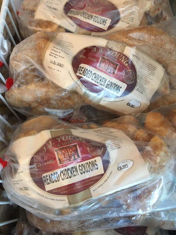 1kg breaded chicken goujons