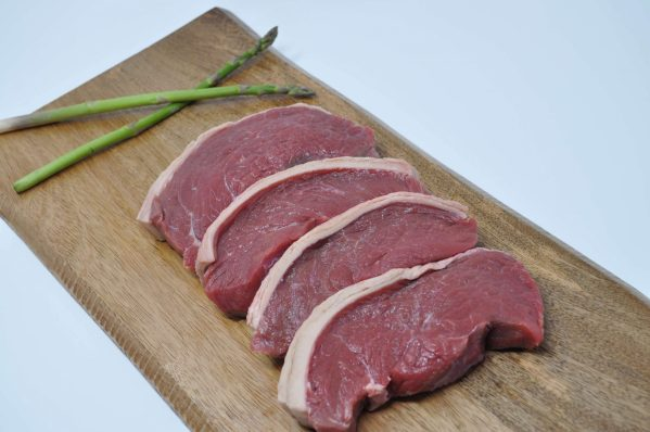 4 Prime Irish Sirloin Steaks