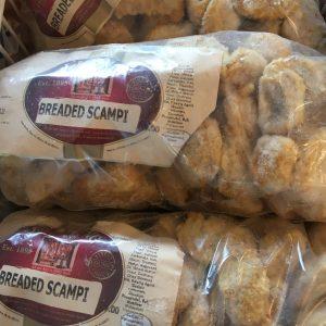 1Kg Breaded scampi