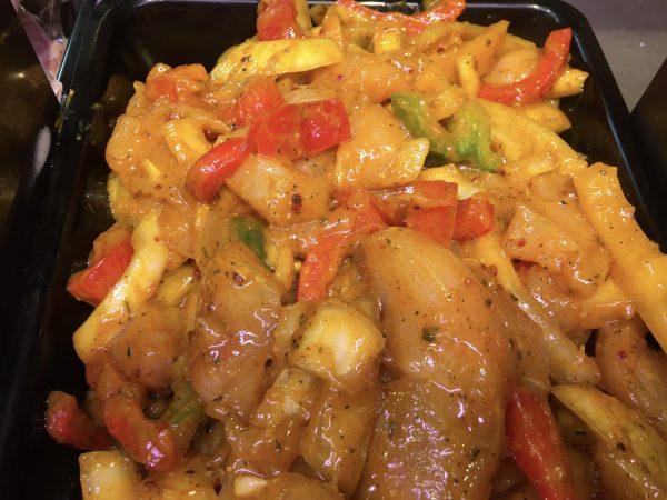 Chicken fillet stir fry