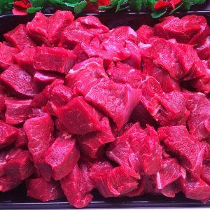 Prime Irish diced beef