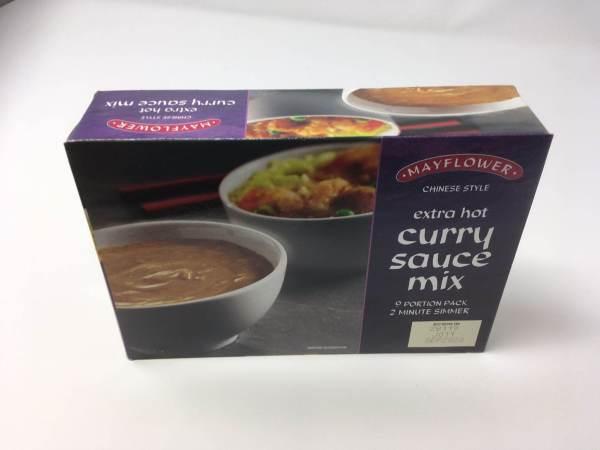 Extra hot curry sauce mix