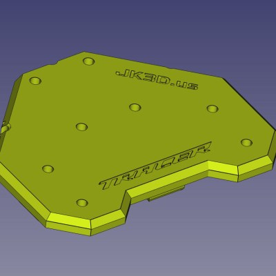 Mounting Plate top design