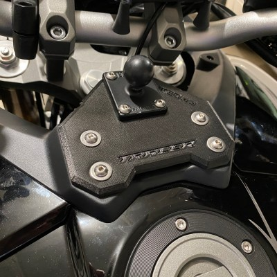 4 Bolt Mount with AMPS ball