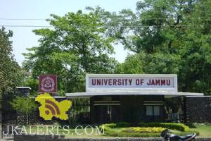 Jammu University Date sheet of BAMS, BBA(HM).
