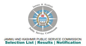JKPSC Notification