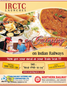 Book meals through  catering also irctc food booking rh erail