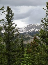 Distant views of the continental divide