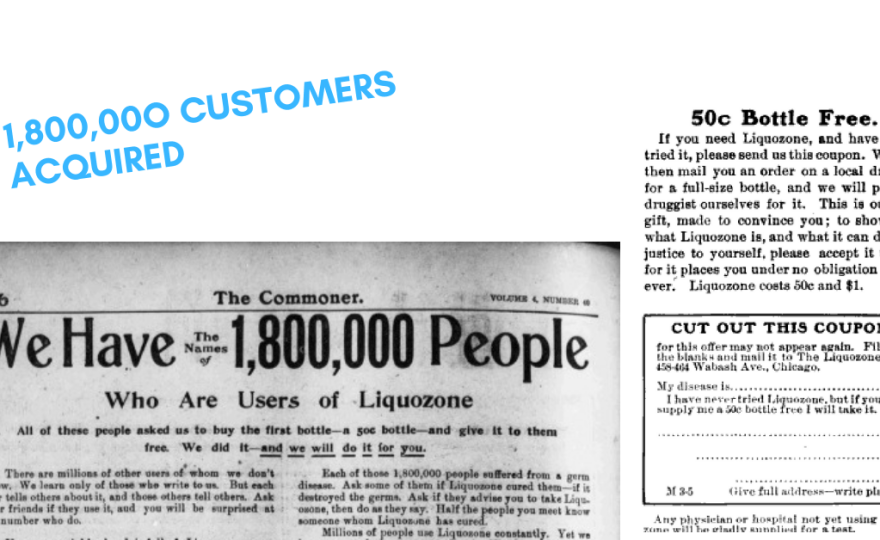 On 1904, this strategy leads to acquiring 1,800,000 people