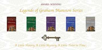 The five books of the Legends of Graham Mansion Series